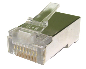 RJ45 Shielded Plug 100 Pack