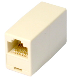 RJ45 Full Crossover Coupler Joiner
