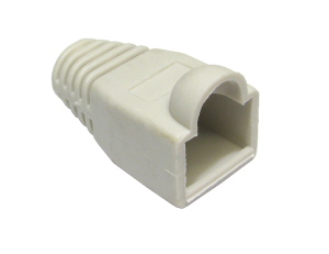 RJ45 Snagless Connector Boot Grey