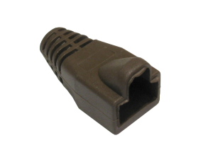 RJ45 Snagless Connector Boot Brown