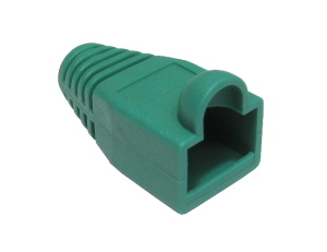 RJ45 Snagless Connector Boot Green