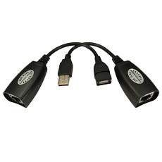 USB Over Ethernet Extender CAT5e CAT6